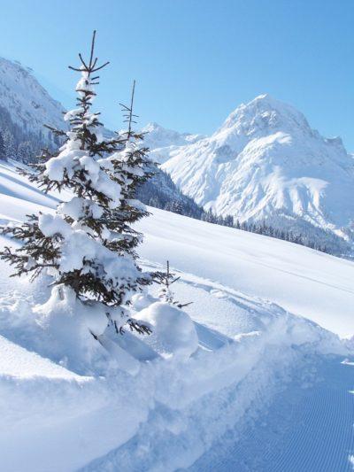 Skiing, Lech, Austria
