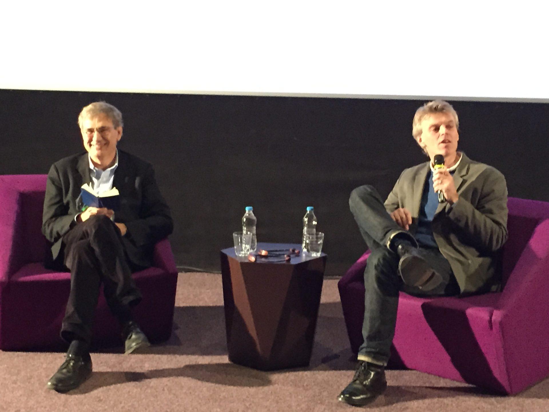 How to write Masterclass Orhan Pamuk