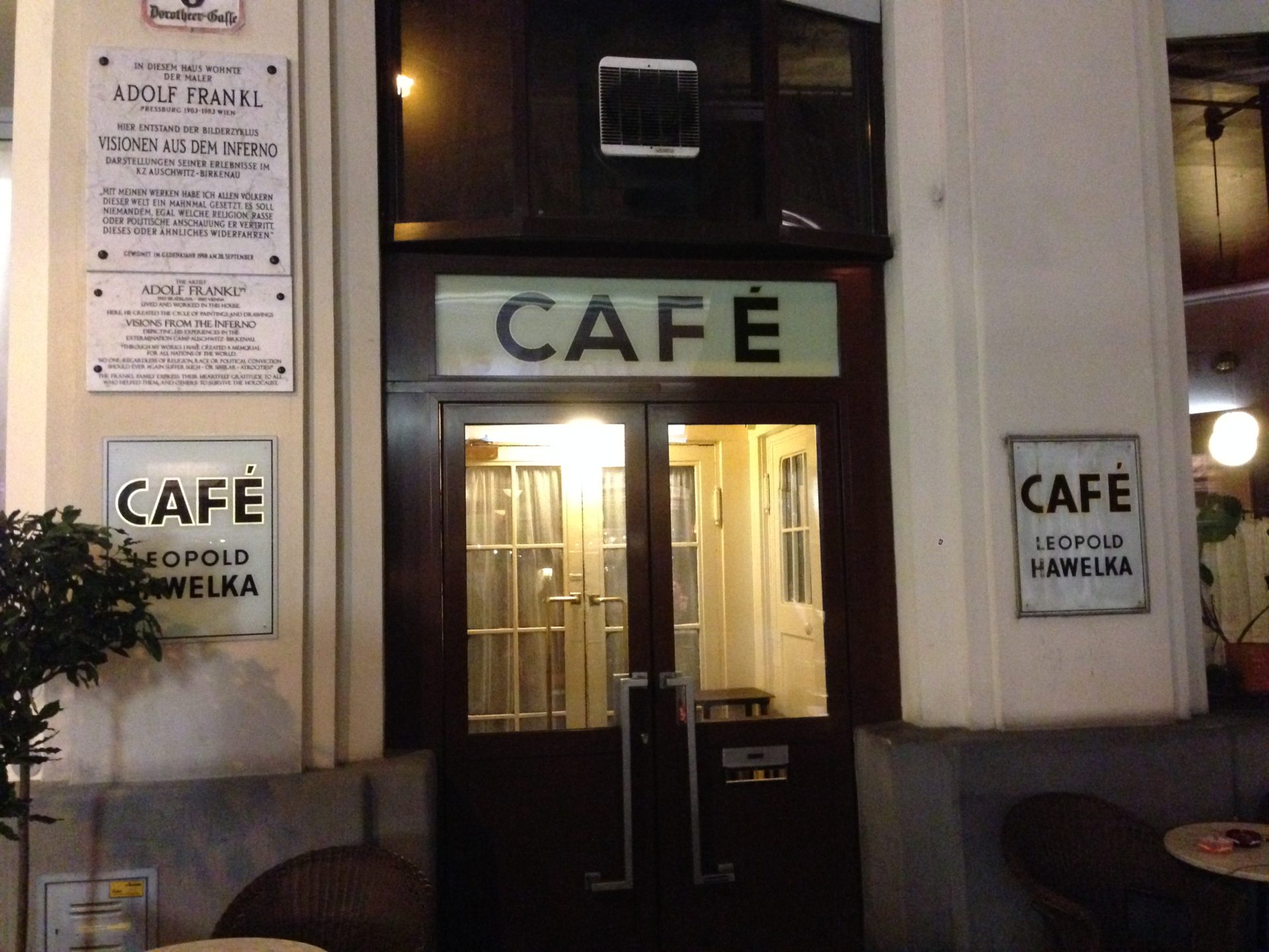 Cafe Hawelka Vienna Austria