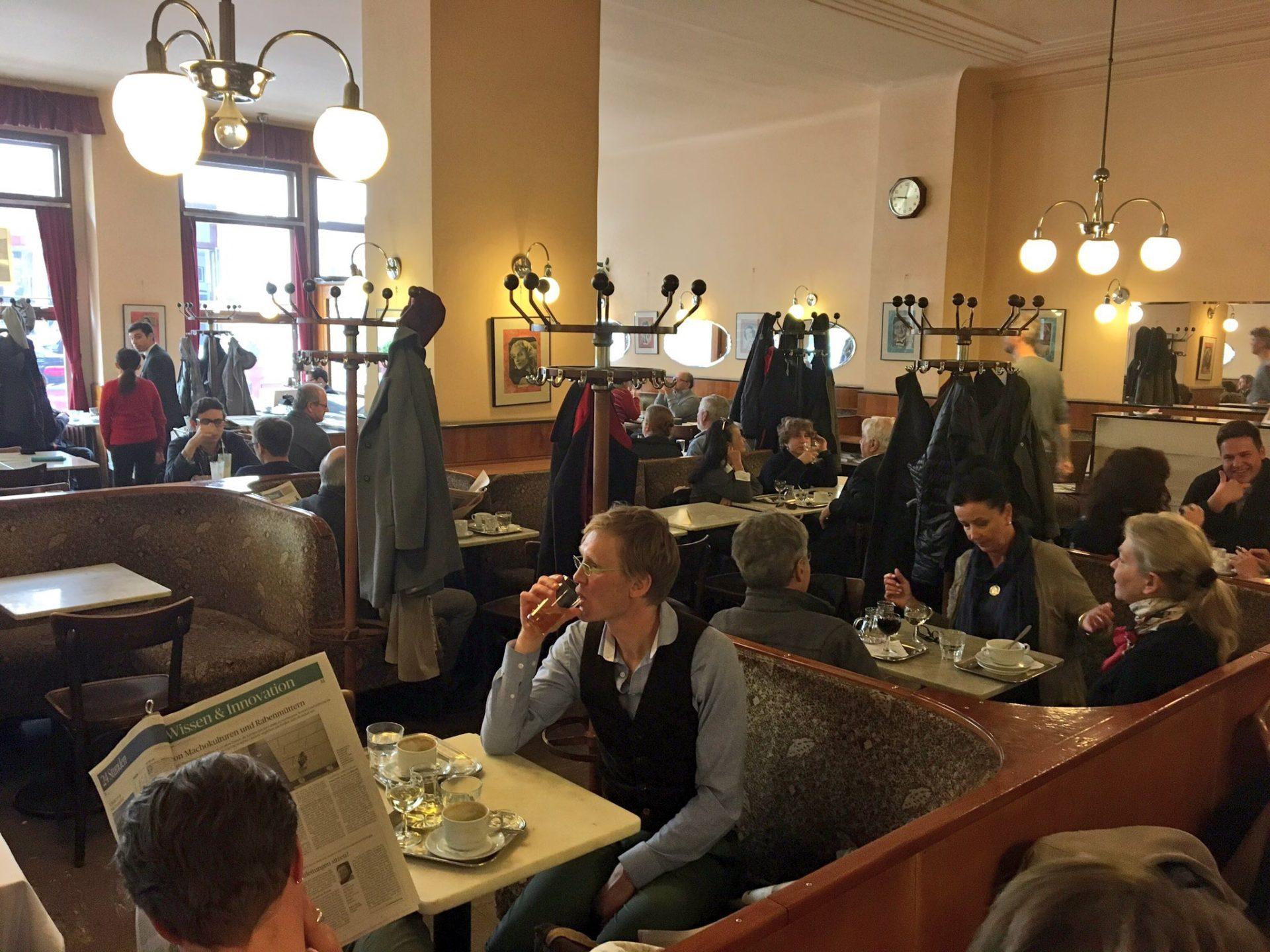 Cafe Bräunerhof Vienna Austria