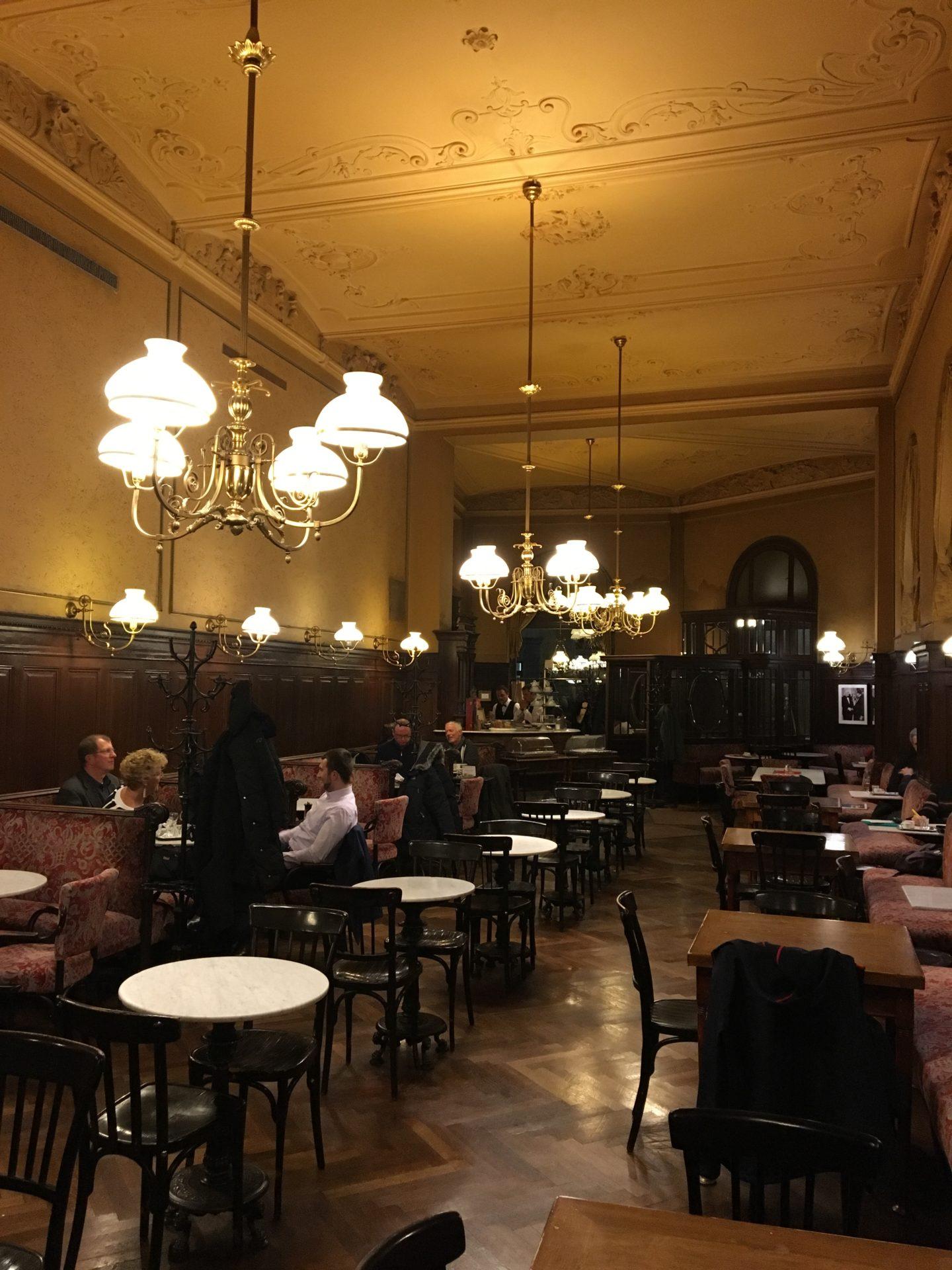 Cafe Sperl Vienna Austria