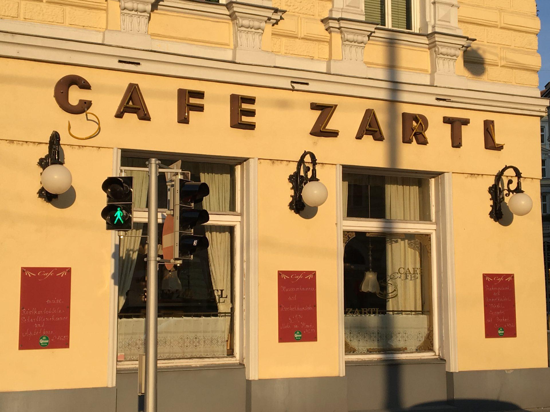 Cafe Zartl Vienna Austria