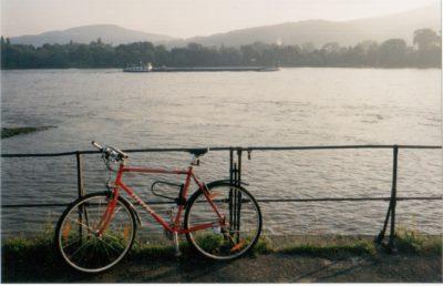 Cycling along the Rhein