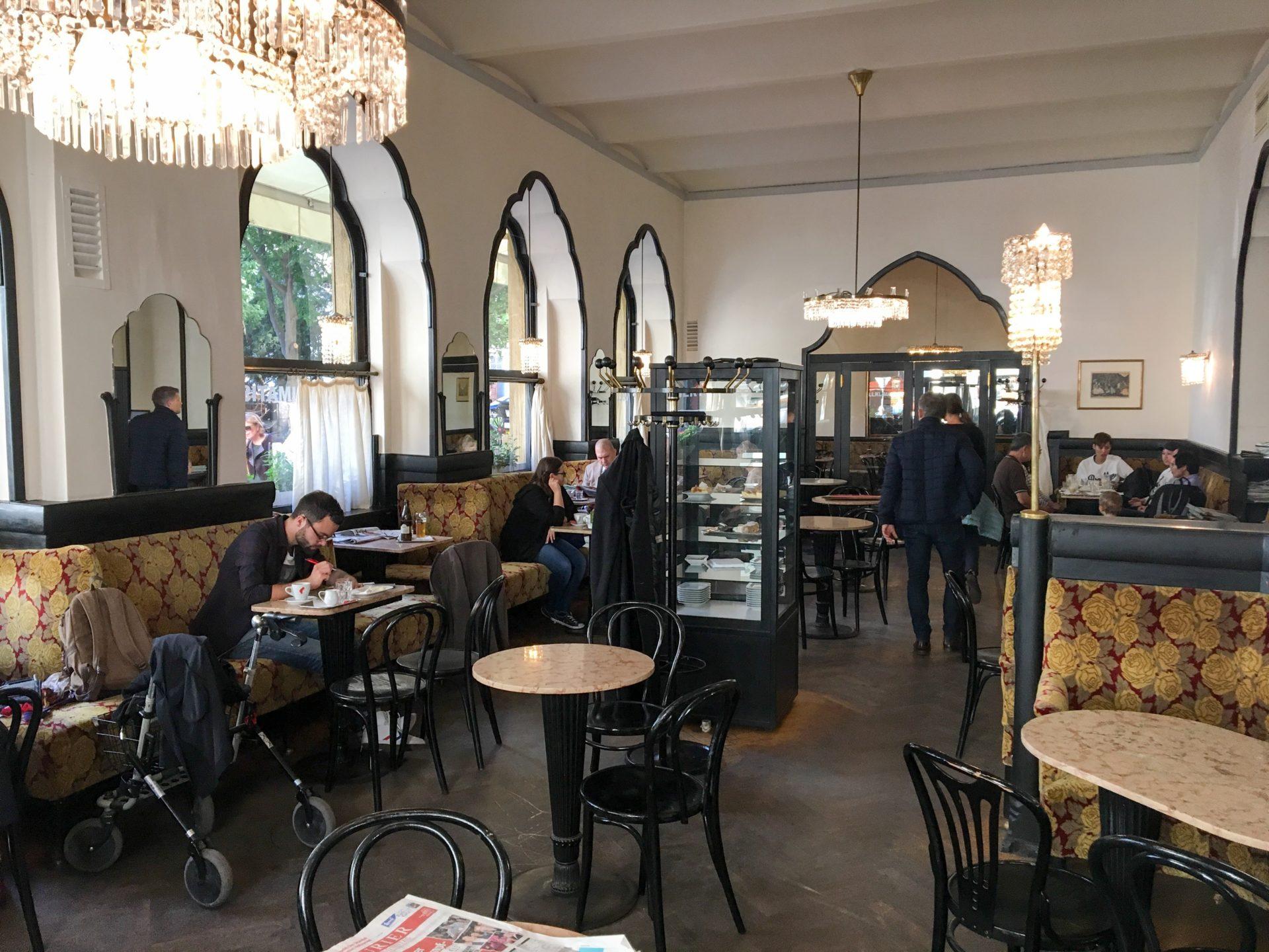 Cafe Tirolerhof Vienna Austria
