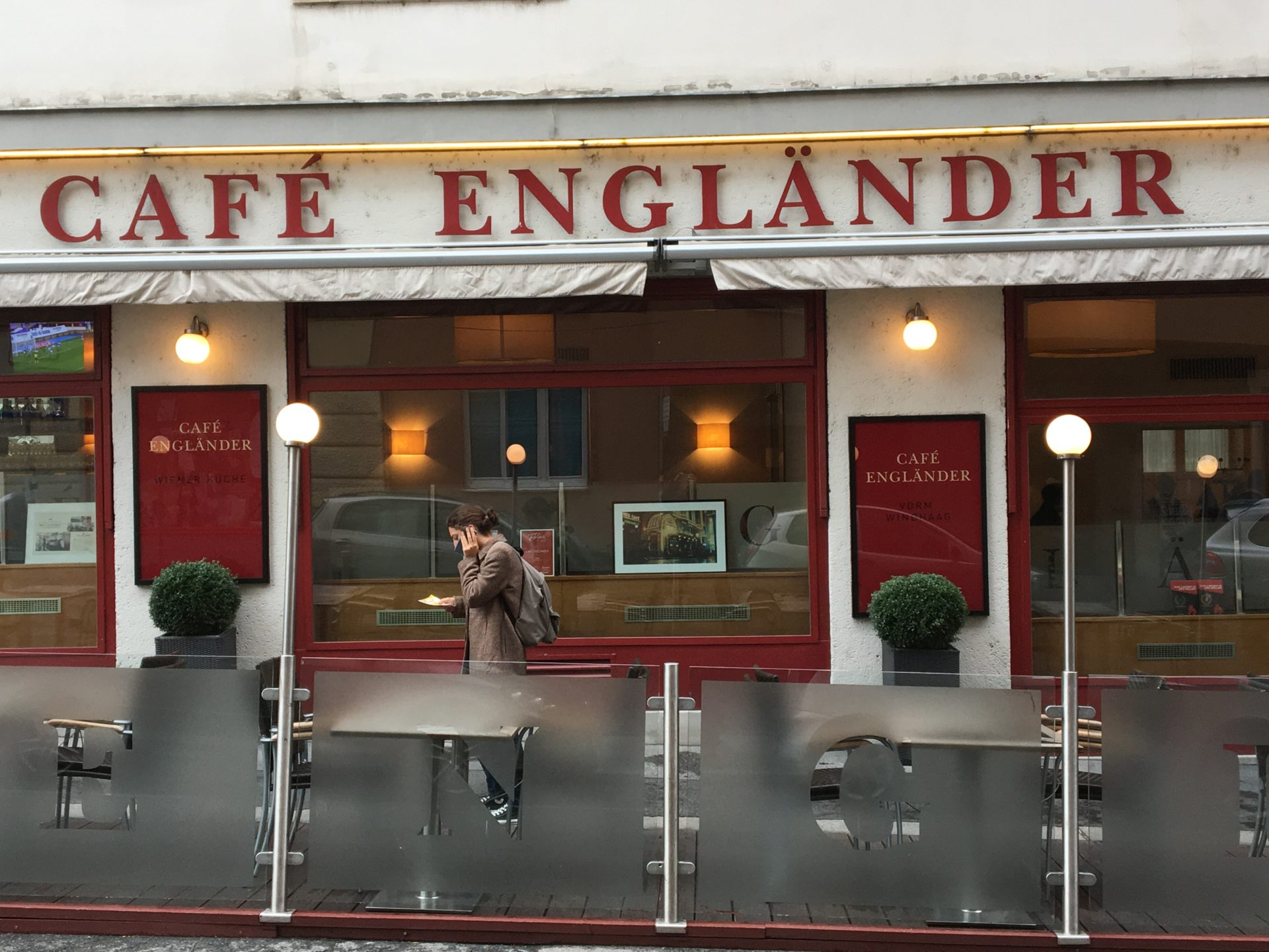 Cafe Englander, Vienna, Austria