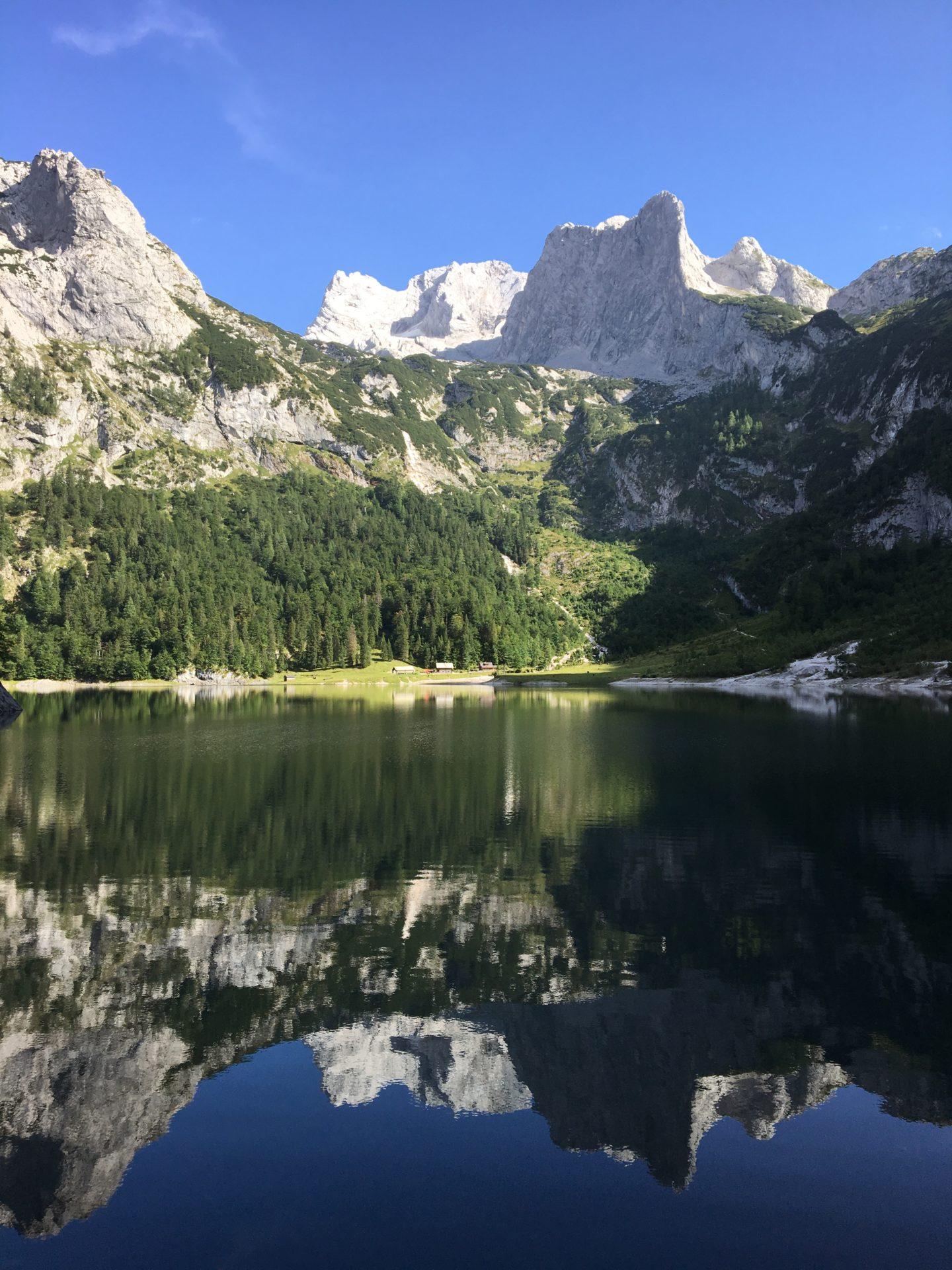 The Dachstein massif, Austria