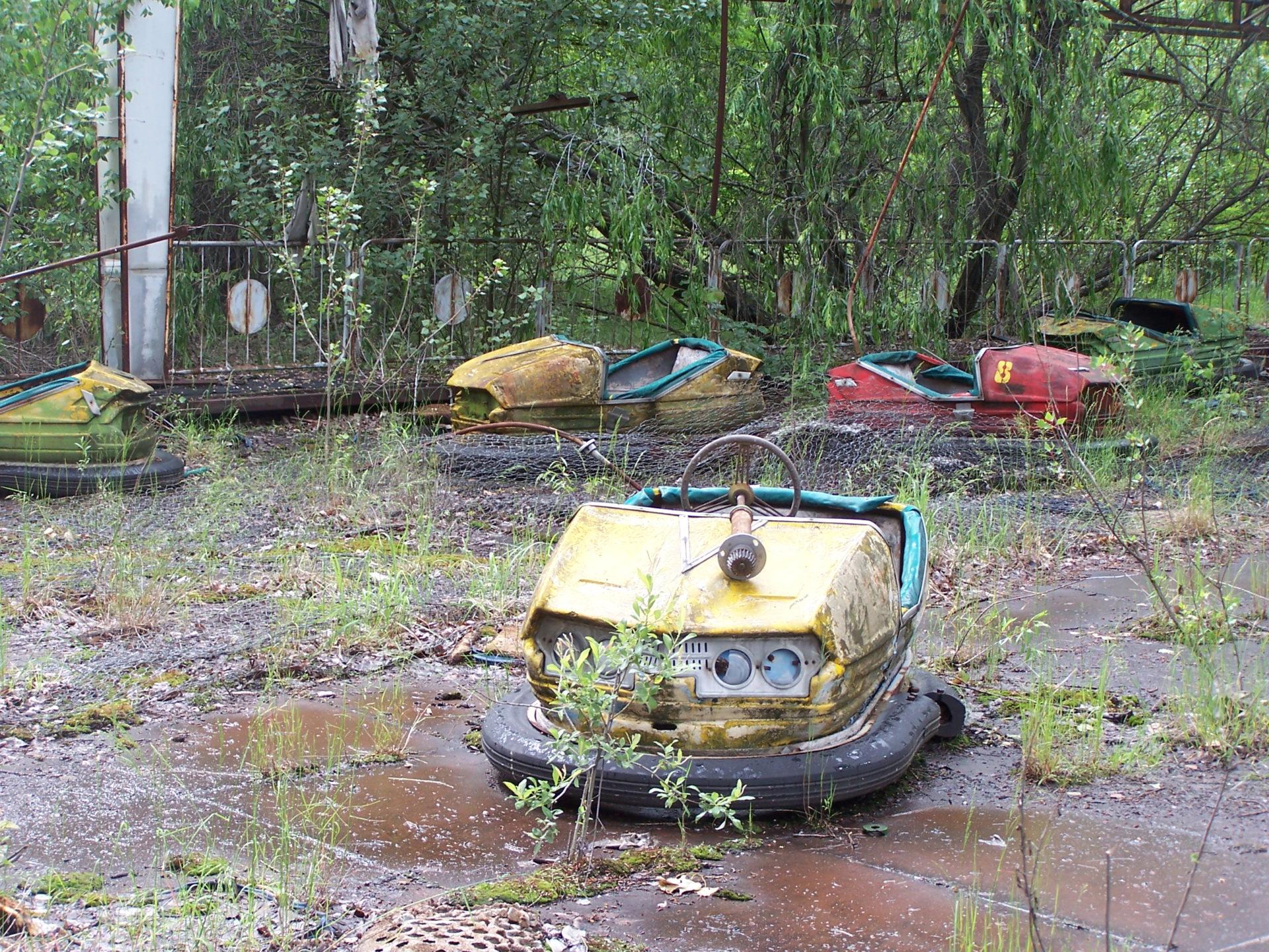 Chernobyl funfair
