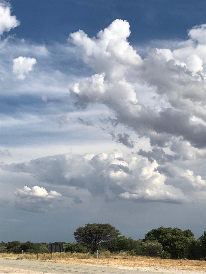 Clouds over the Kalahari