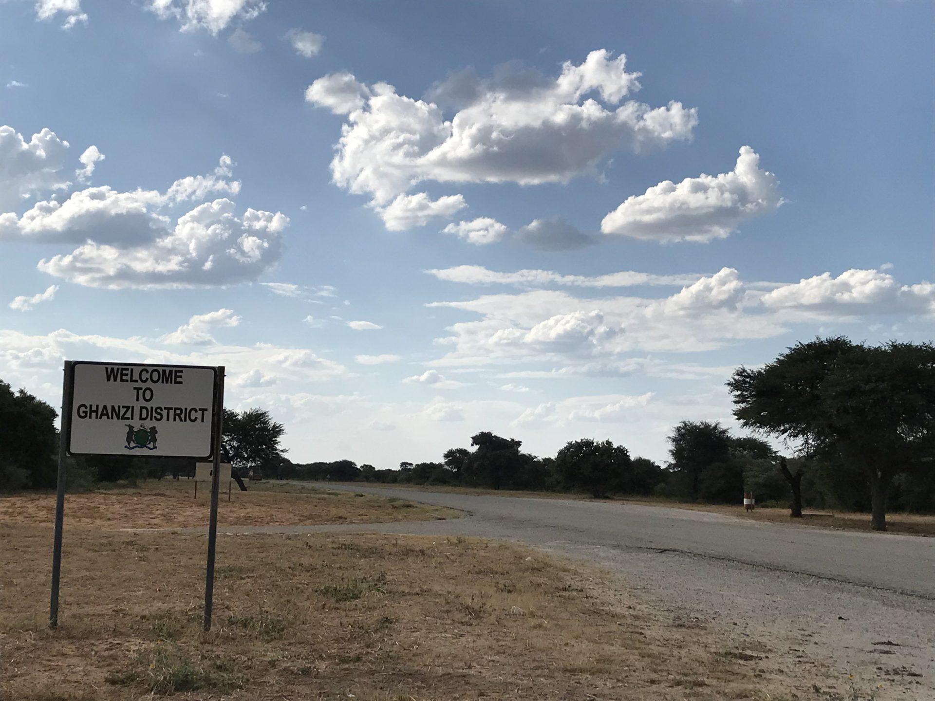 Clouds over Ghanzi, Botswana