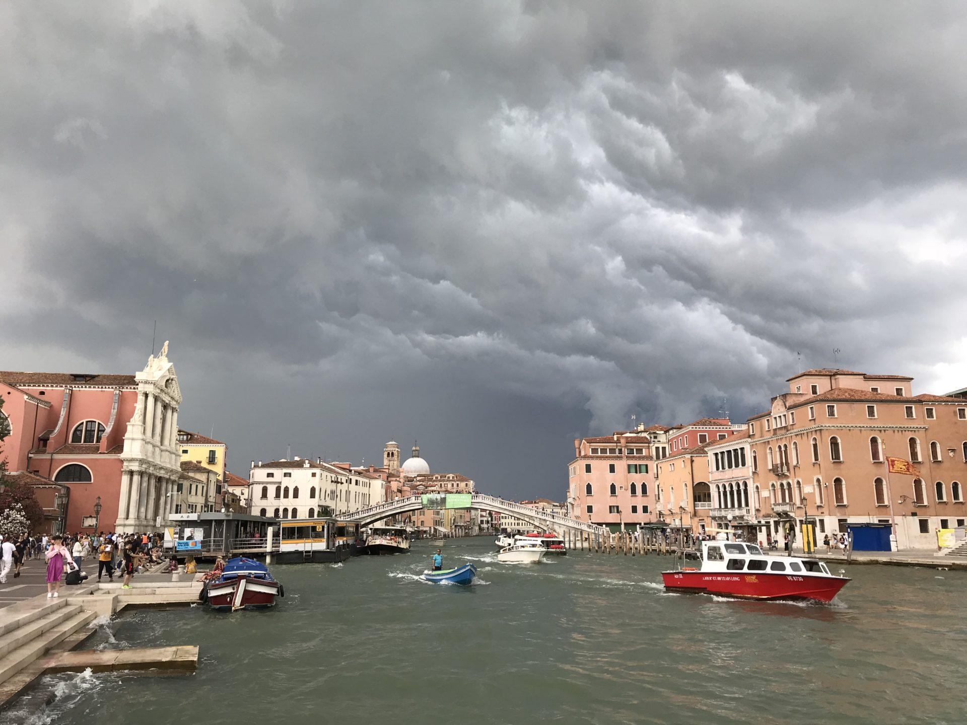 Clouds over Venice