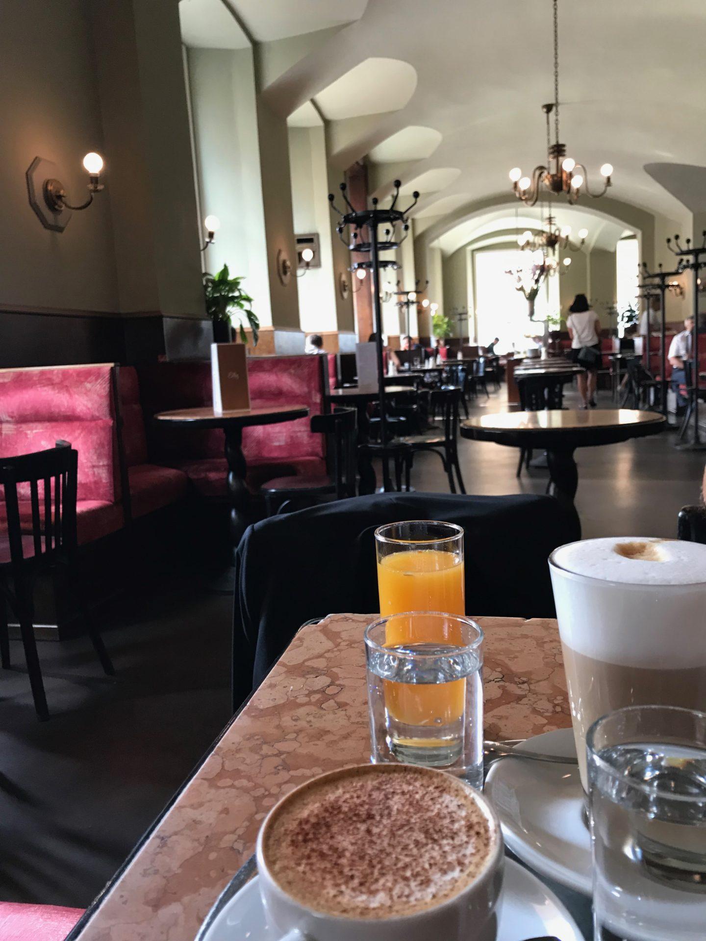 Cafe Eiles, Vienna, Austria