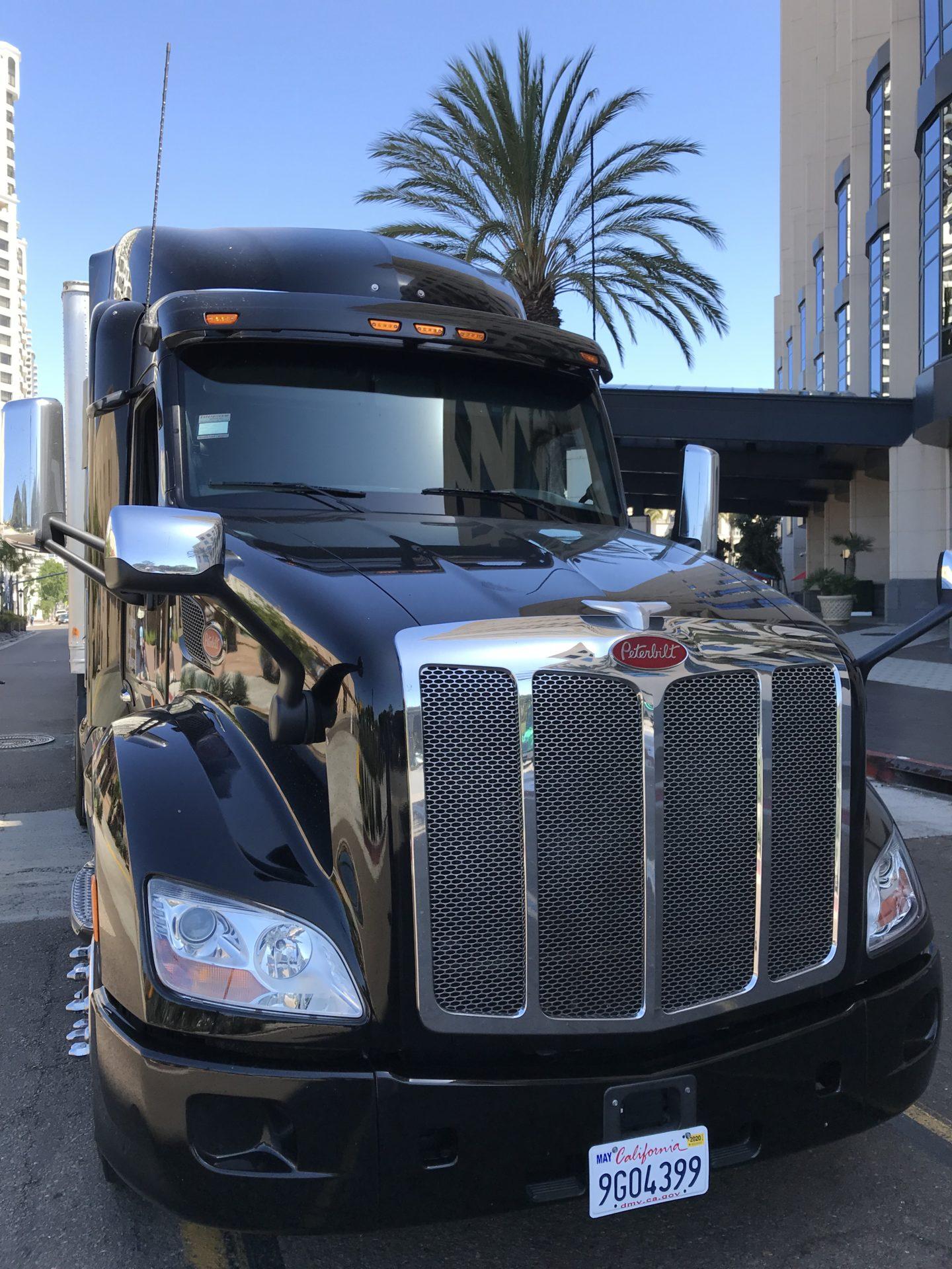 Peterbilt truck, 2019