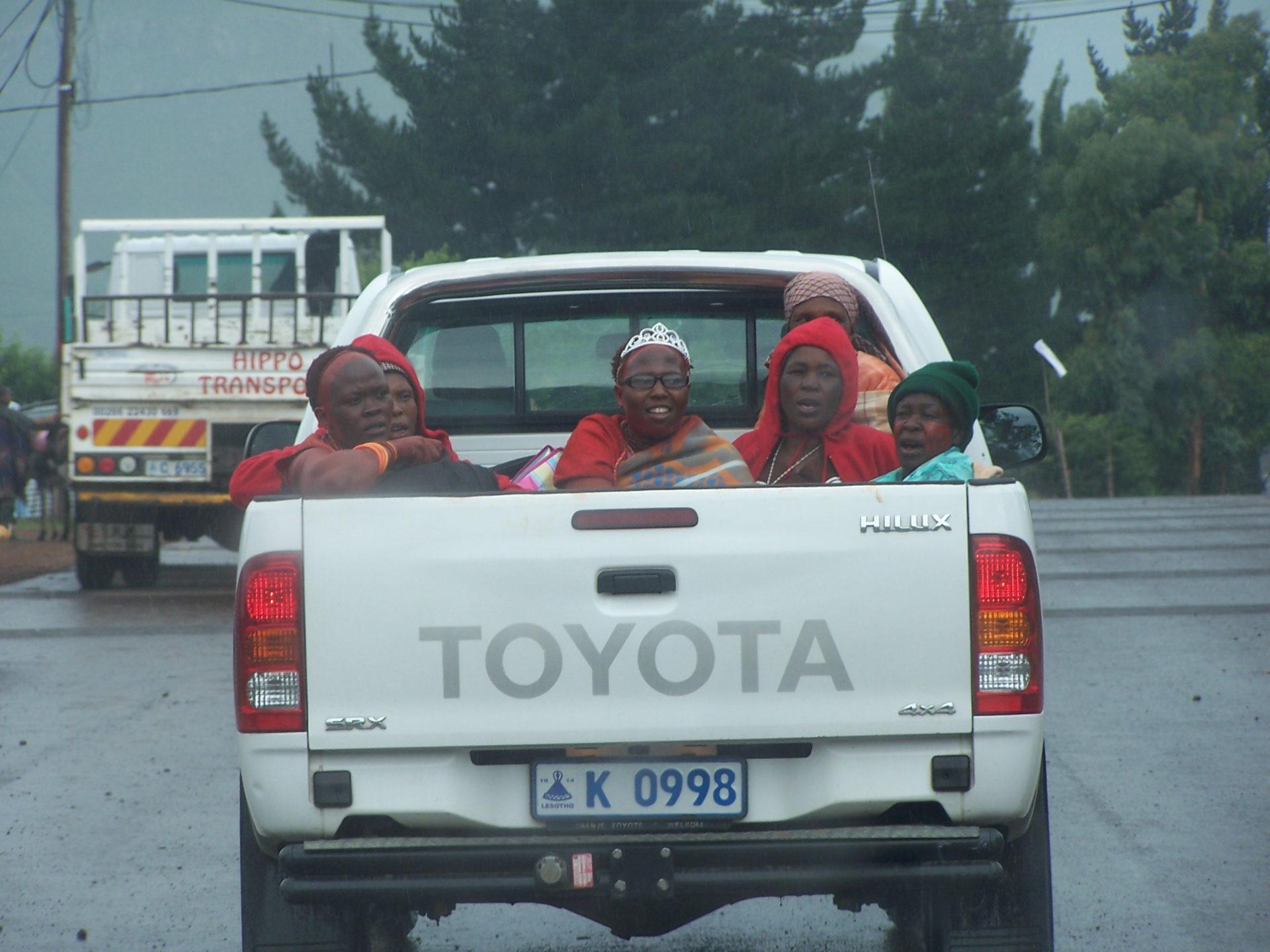 Mosotho Women, Lesotho