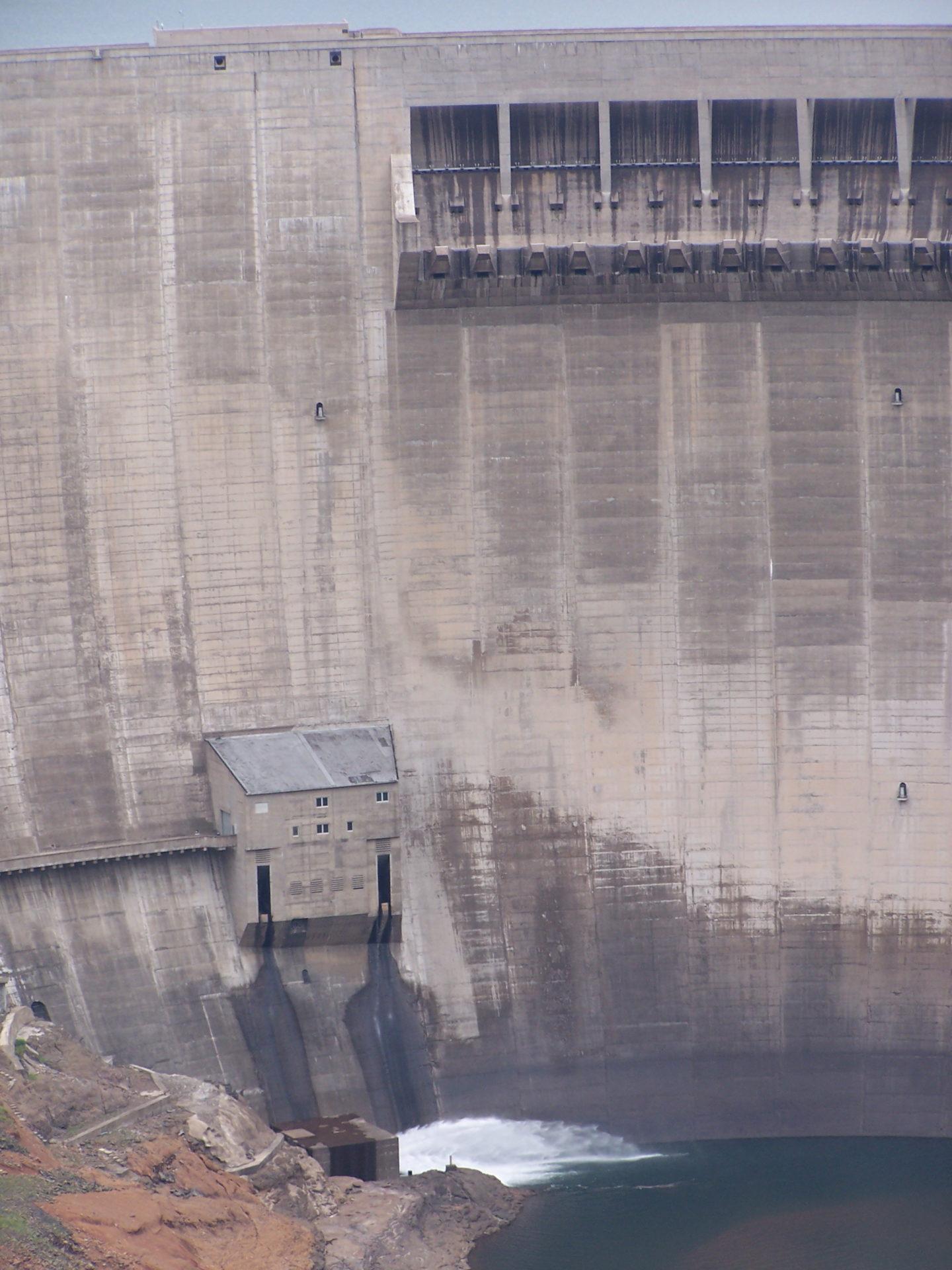 Katse Dam, Highlands Water project, Lesotho
