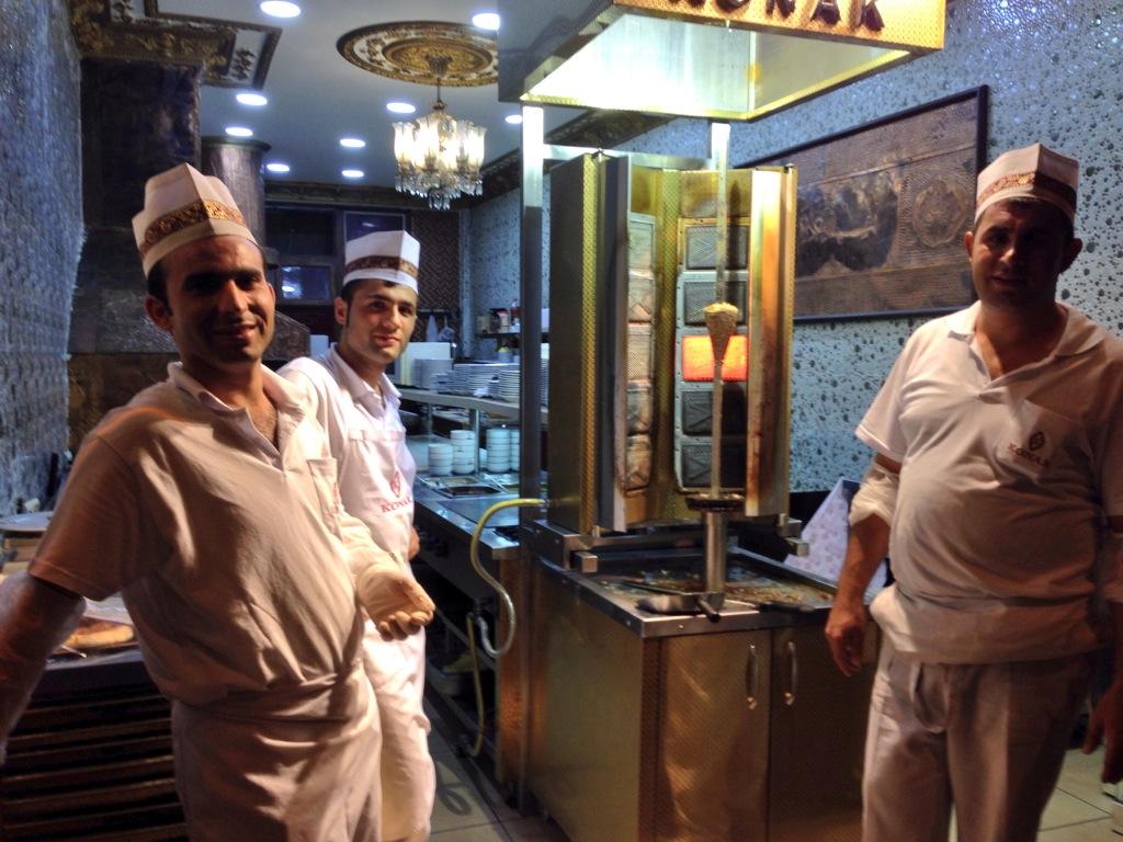 Turkish kebabci
