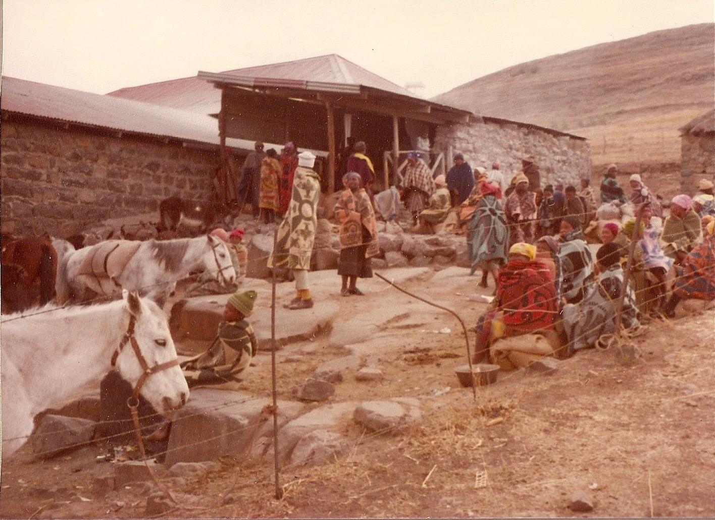 Mosotho Women, Thaba Bosiu