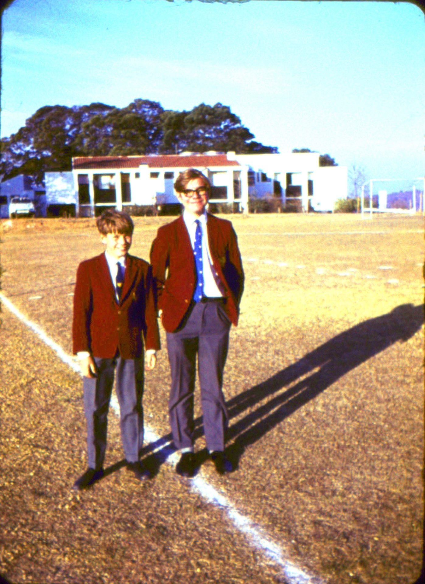 Robert Pimm and Stephen Turner