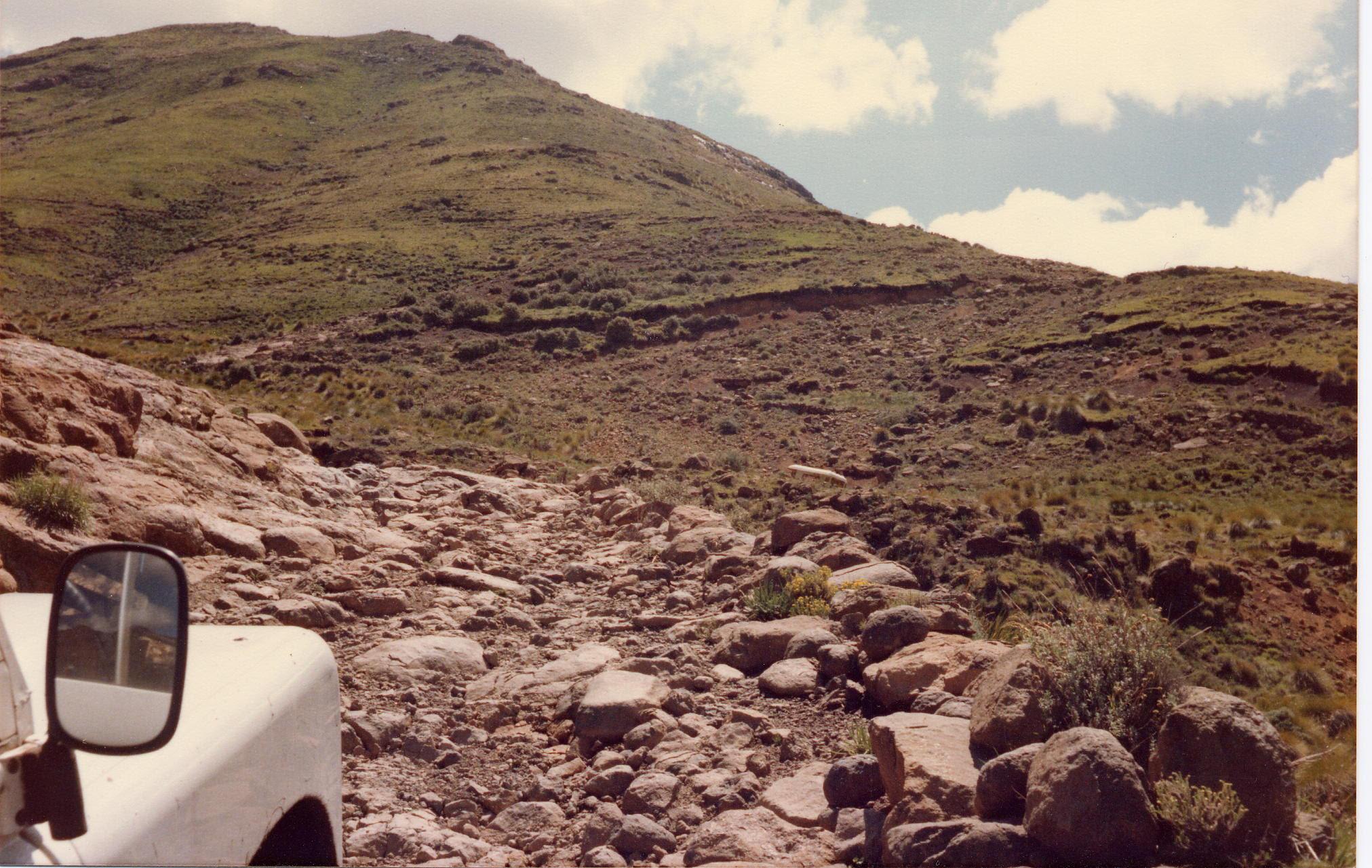 Koasa Pass, Lesotho