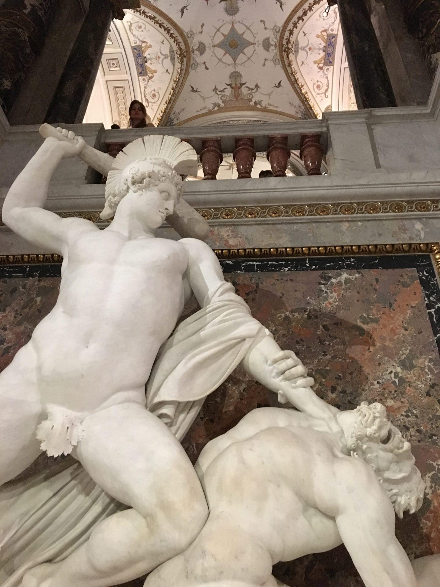 Canova: Theseus slaying the centaur