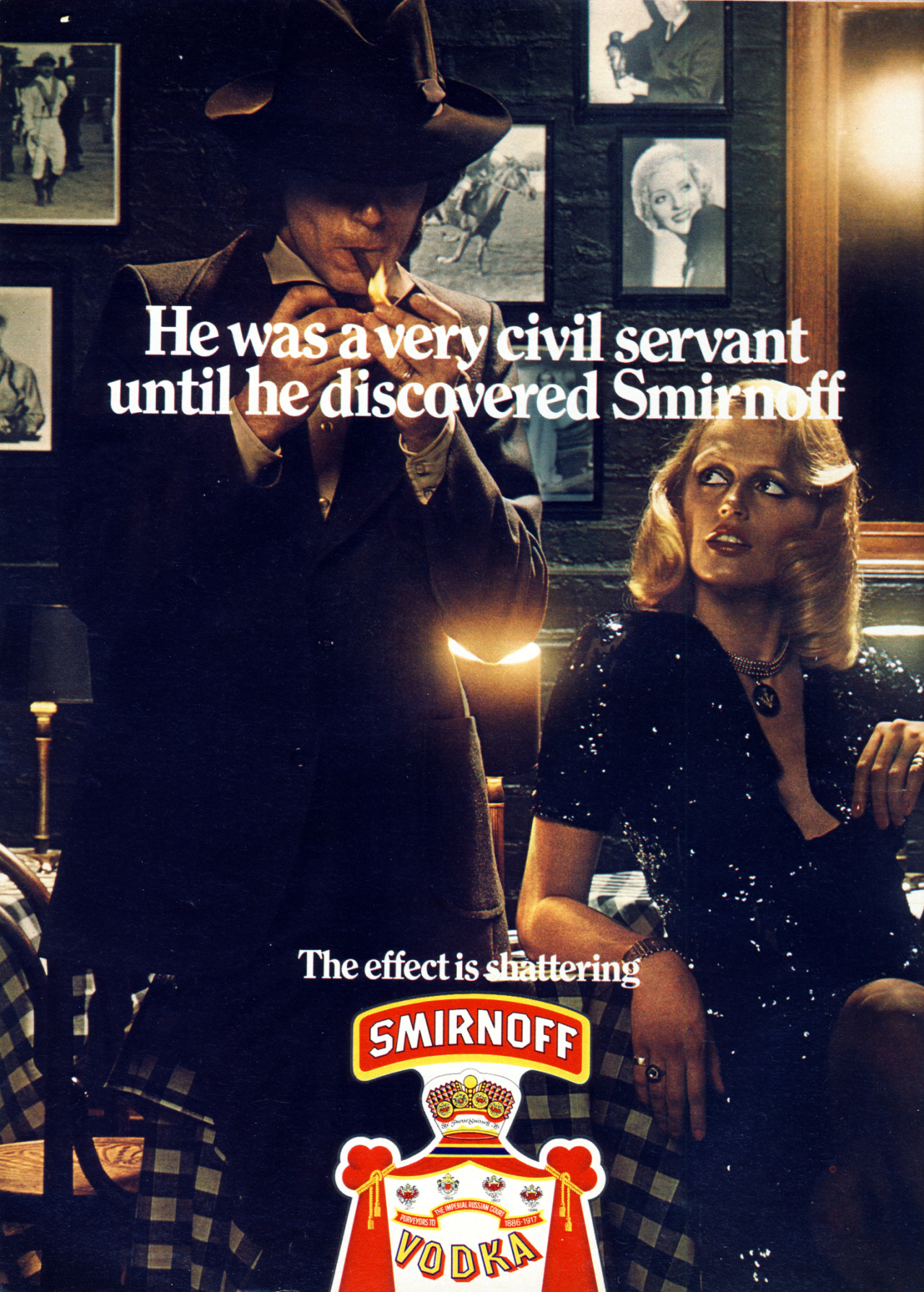 Smirnoff I Used to be a very civil servant